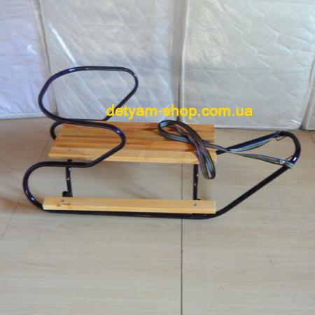 Al-Len 01 - санки со съемной спинкой и удобной подножкой