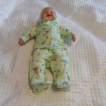 Ярослав футер - набор одежды для новорожденного