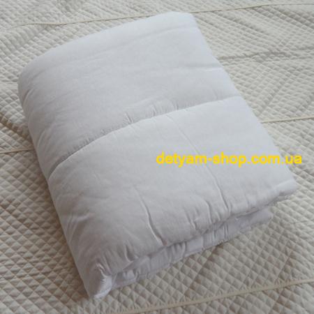Одеяло 043 - белое, силиконовое 110*145