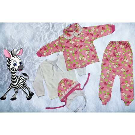 ВиАтекс-Интерлок - набор одежды для новорожденного