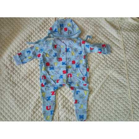 Ярослав кулир - набор одежды для новорожденного