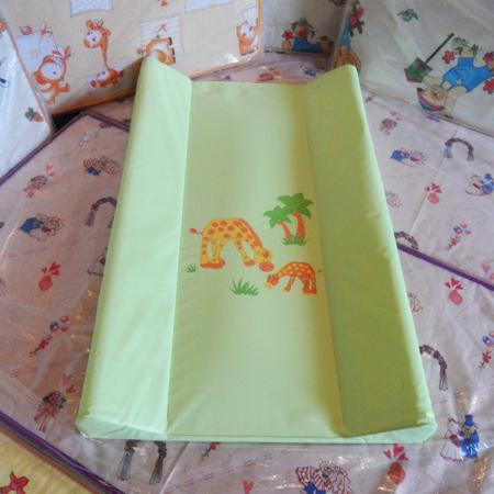 Пеленатор Ceba Baby 50*80 - мягкий набивной матрасик для пеленания с установкой на кроватке