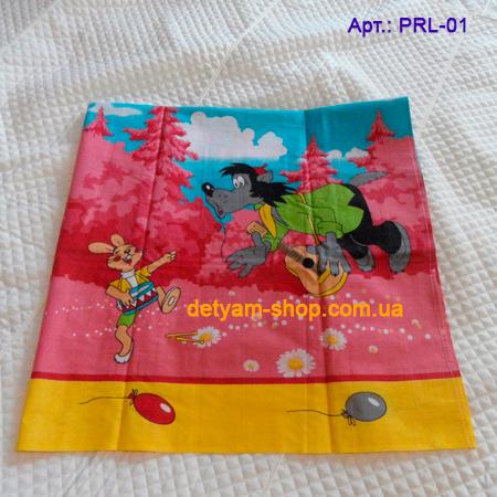 Мультяшки комплект постельного белья из 3 предметов с мультяшными героями
