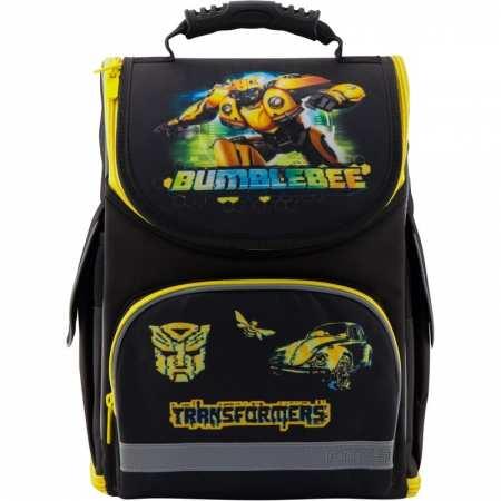 Transformers BumbleBee (Трансформер Бамблби) - каркасный, легкий, ортопедический, школьный рюкзак