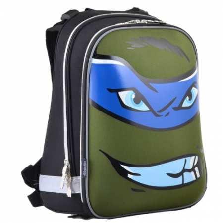 """Turtles face - каркасный, легкий, ортопедический, школьный рюкзак известного украинского бренда """"1 Вересня""""."""