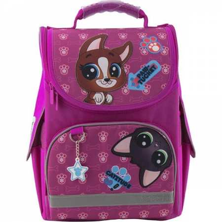 Littlest Pet Shop (Маленький зоомагазин) - каркасный, легкий, ортопедический, школьный рюкзак