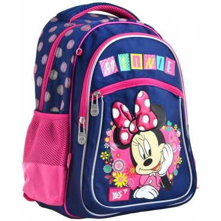 """Рюкзак школьный Minnie Mouse - легкий, мягкий, ортопедический рюкзак украинского бренда  """"1 Вересня"""""""