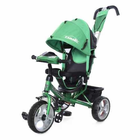 """""""Camaro"""" - модель детского трехколесного велосипеда-коляски с усиленной рамой"""