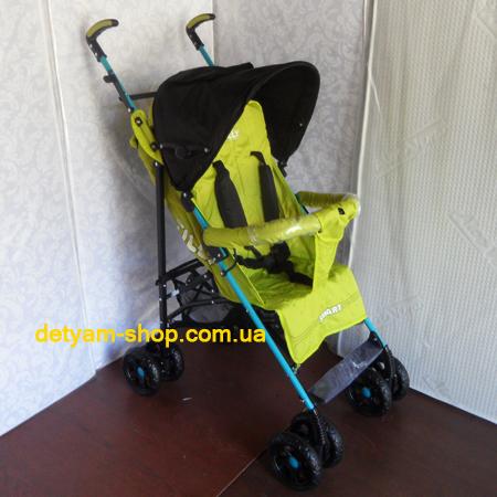 TILLY Smart SB-0007 - летняя коляска-трость с большим капюшоном
