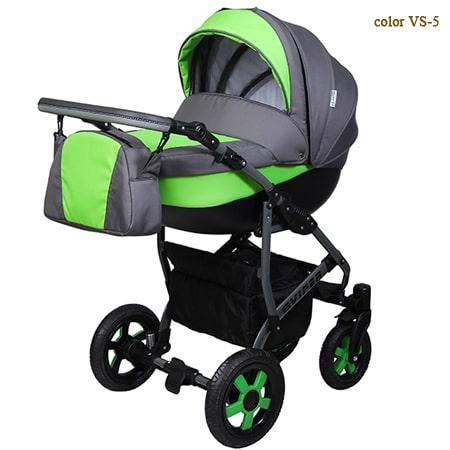 Viper Smart - обновленная модель коляски 2в1 в  популярных цветов с яркими элементами.